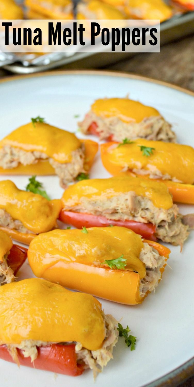 Photo of Easy Tuna Melt Poppers
