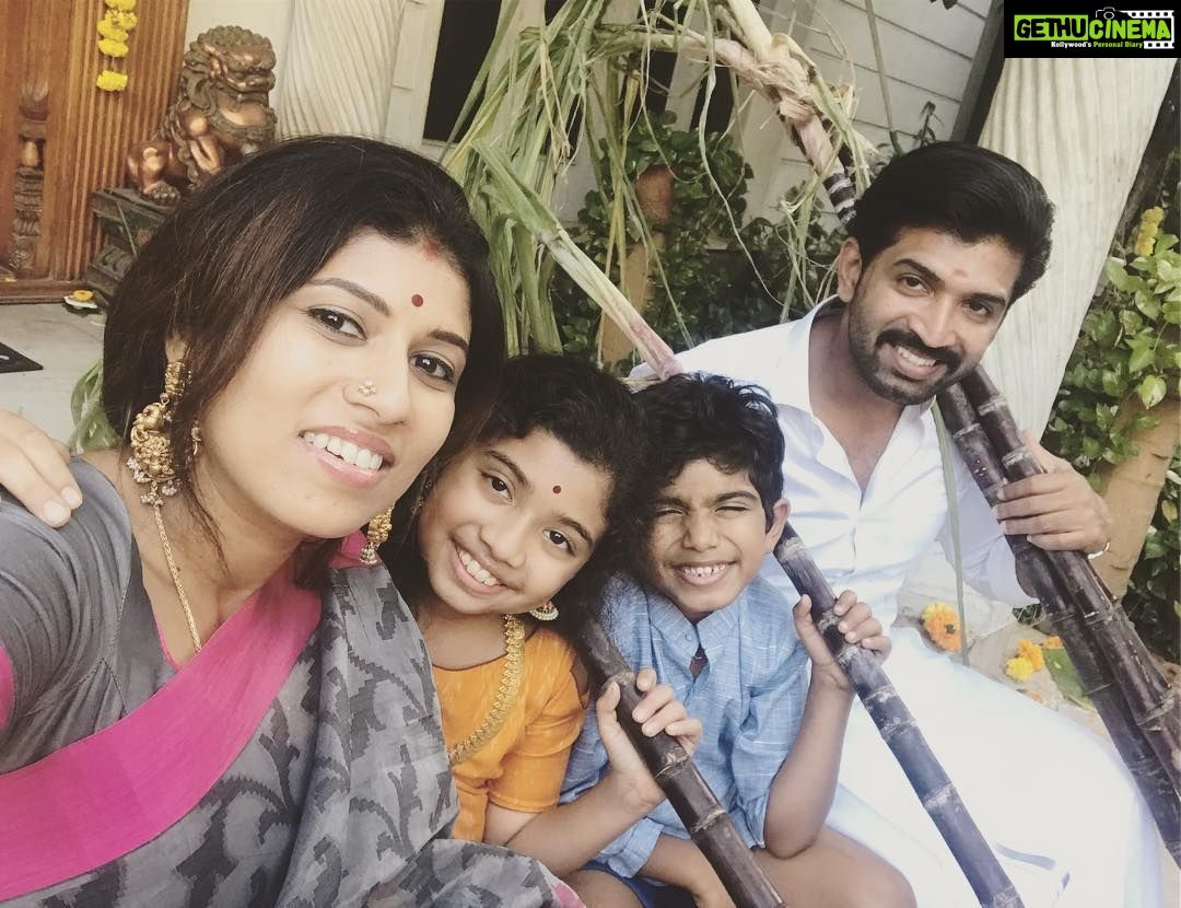 Actor Arun Vijay 2018 Family Picture Collections | Actors Gallery