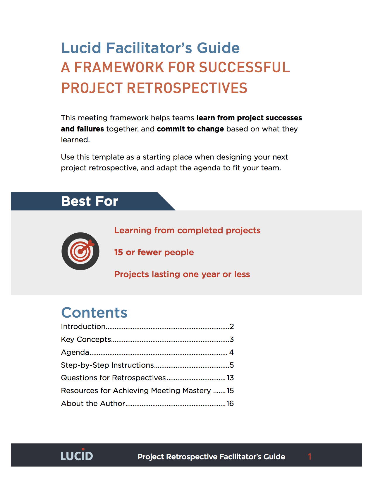 how to lead a project successfully