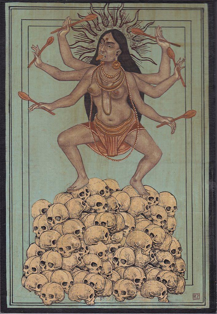 Ravi Zupa and his Kali