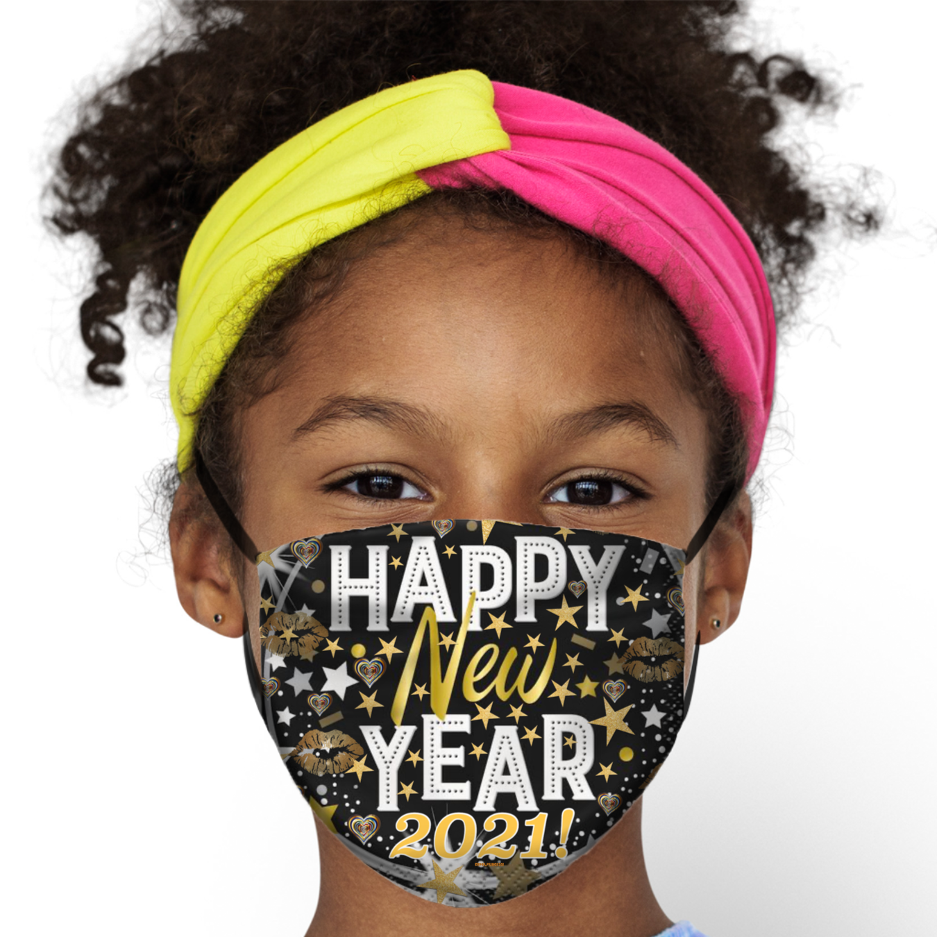 Happy New Year 2021 Kids Face Mask Cbdoilprincess Get Your 10xpure Vitamins Boost Your Immune System Here Www Cbdoilprincess Us In 2020 Face Mask Happy New Face