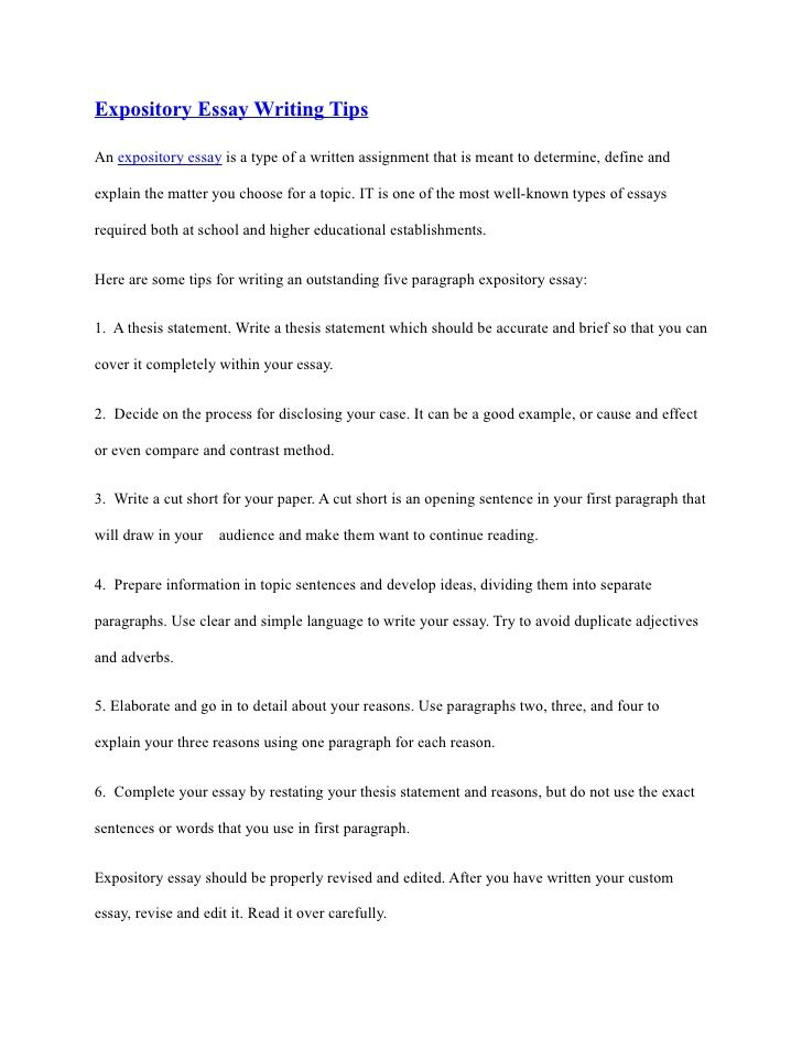 good high school essays process