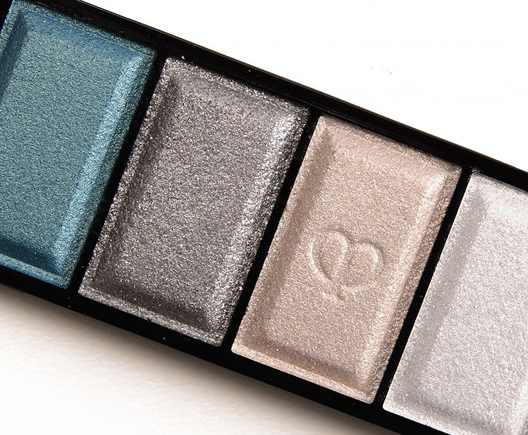 Cle de Peau Pewter Veil (311) Eyeshadow Quad Review