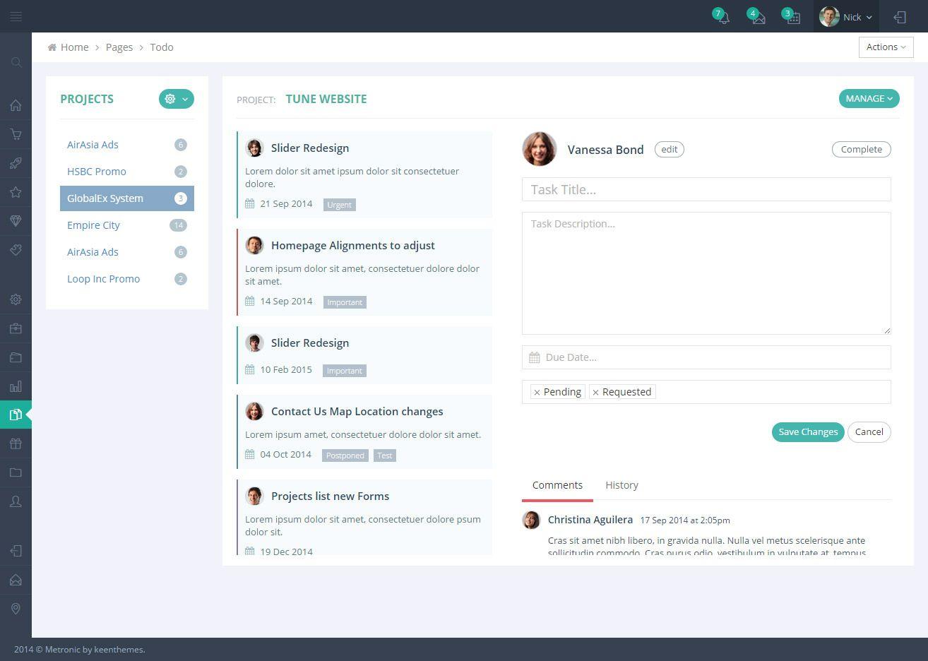 Metronic Bootstrap 4 Html React Angular 8 Vuejs Admin