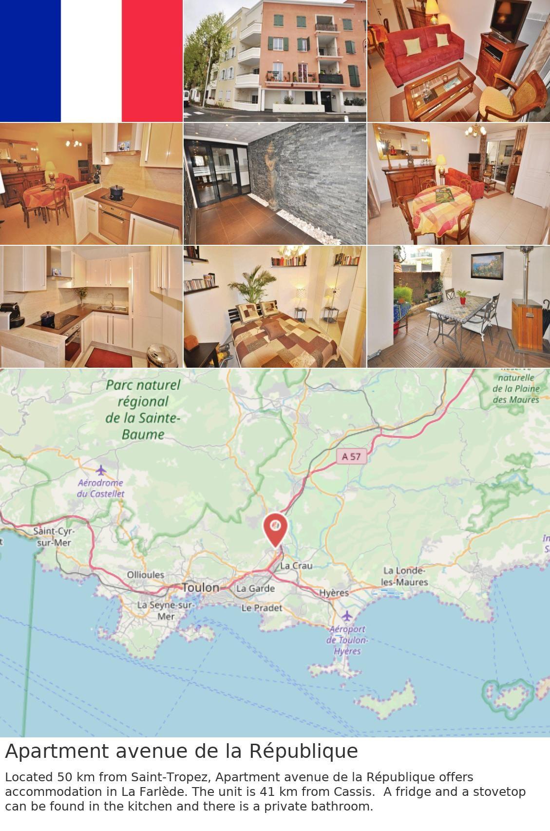 Apartment Avenue De La Republique France Saint Tropez South Of