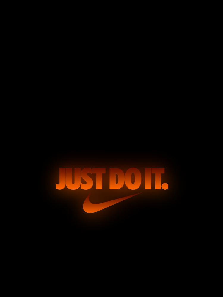 Nike Just Do It Orange Logo Wallpaper Orange Logo Just Do It Nike Wallpaper