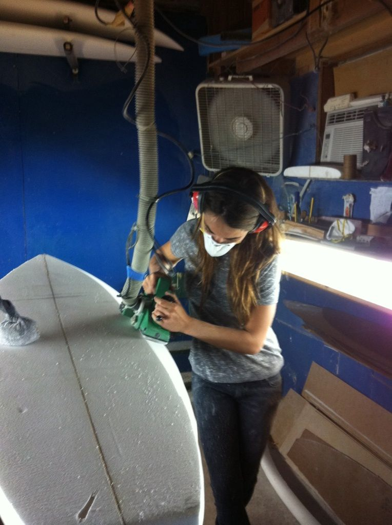 """I am a female shaper and surfer who creates 100% handcrafted surfboards for """"everyday"""" of surf. Located in Los Angeles, CA. Please feel ..."""