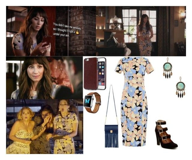"""""""Spencer Hastings- 6.18 Burn This"""" by taught-to-fly19 on Polyvore featuring moda, SUNO New York, Lionette e VC Signature"""