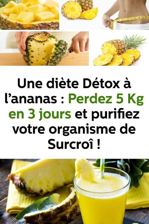diete 3 jours detox