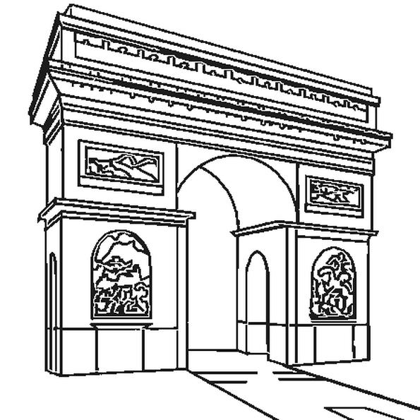 Картинки из раскрасок арка