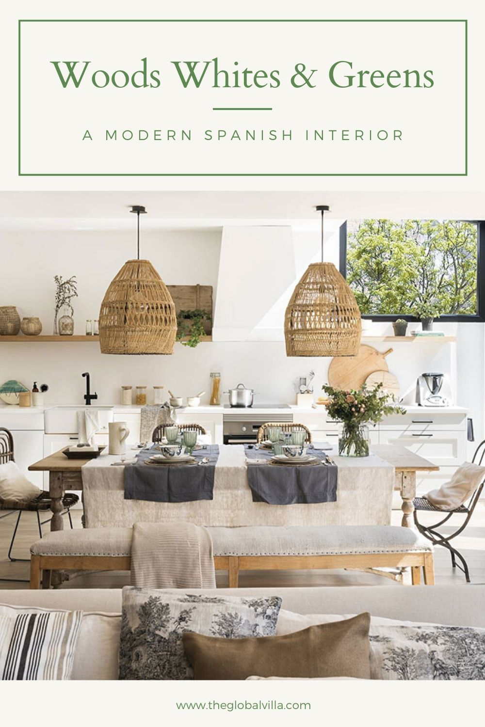 A Modern Spanish Interior That Combines Lots Of Light Natural