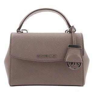914de11b4854 Michael Kors Ava Extra-Small Cinder Saffiano Leather Crossbody Handbag -  20137975 - Overstock.com Shopping - Top Rated Michael Kors Crossbody   Mini  Bags