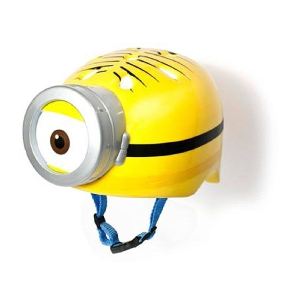 Despicable Me Minions Kids Children/'s Outdoor Safety Helmet For Bike Scooter