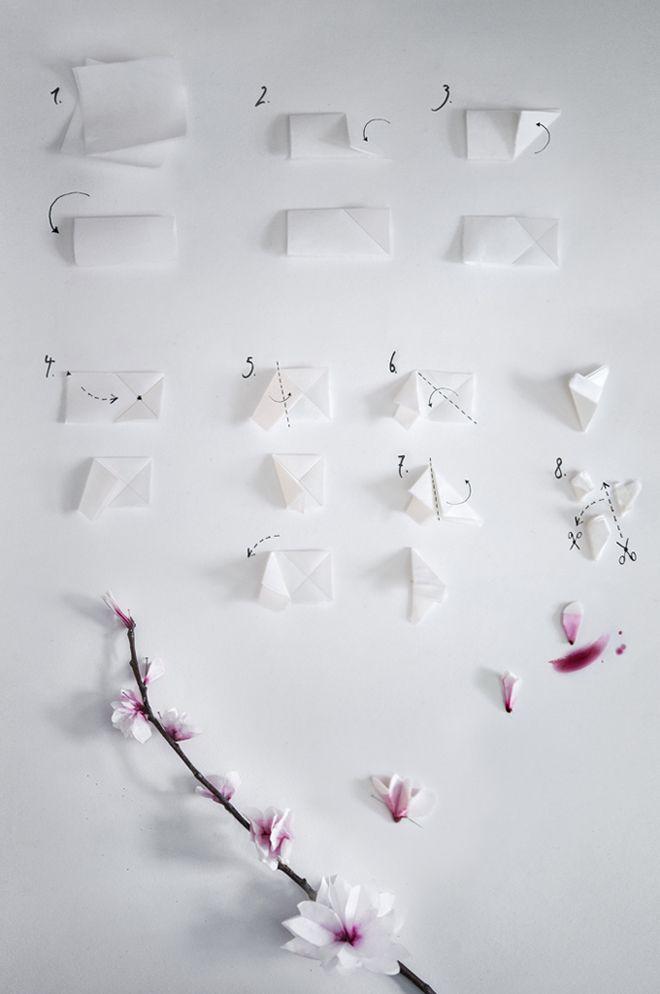 Photo of Kirschblüten aus Papier