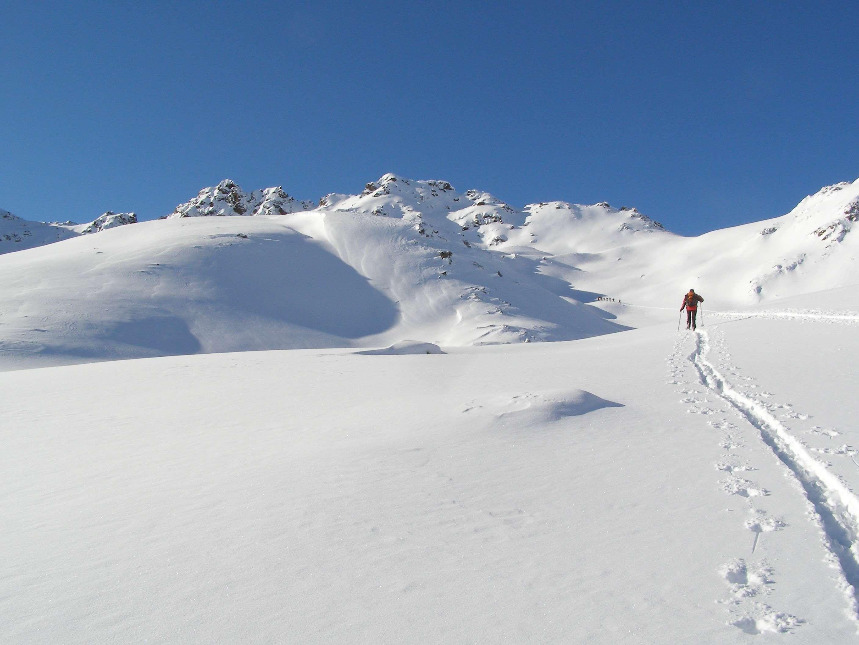 Alpine Backcountry Skiiing Deep Snow Dream Day Nature Off Piste Powder Snow Ski Snow Snow Landscape Touring Skis Backcountry Snow Skiing Landscape