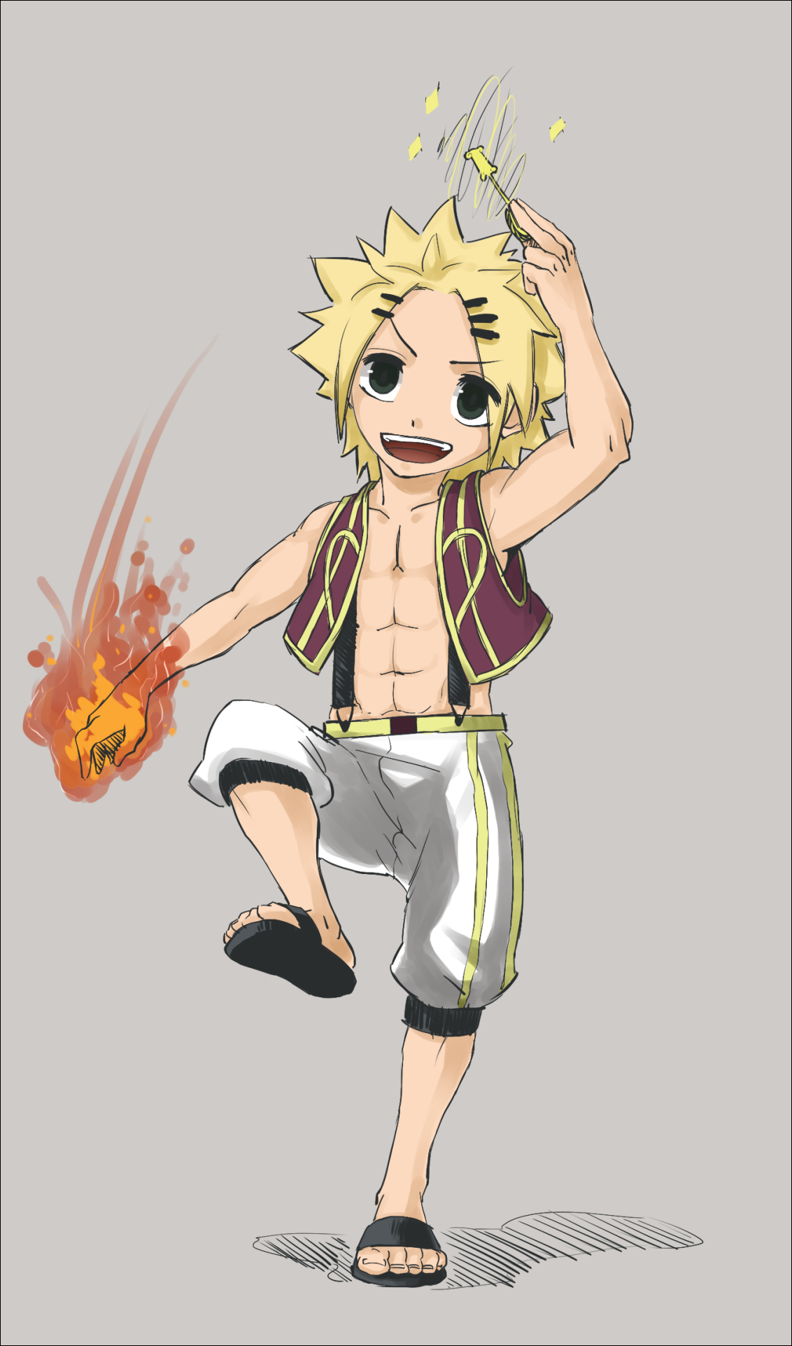 Fairy Tail - Nashi - Son of Natsu and Lucy