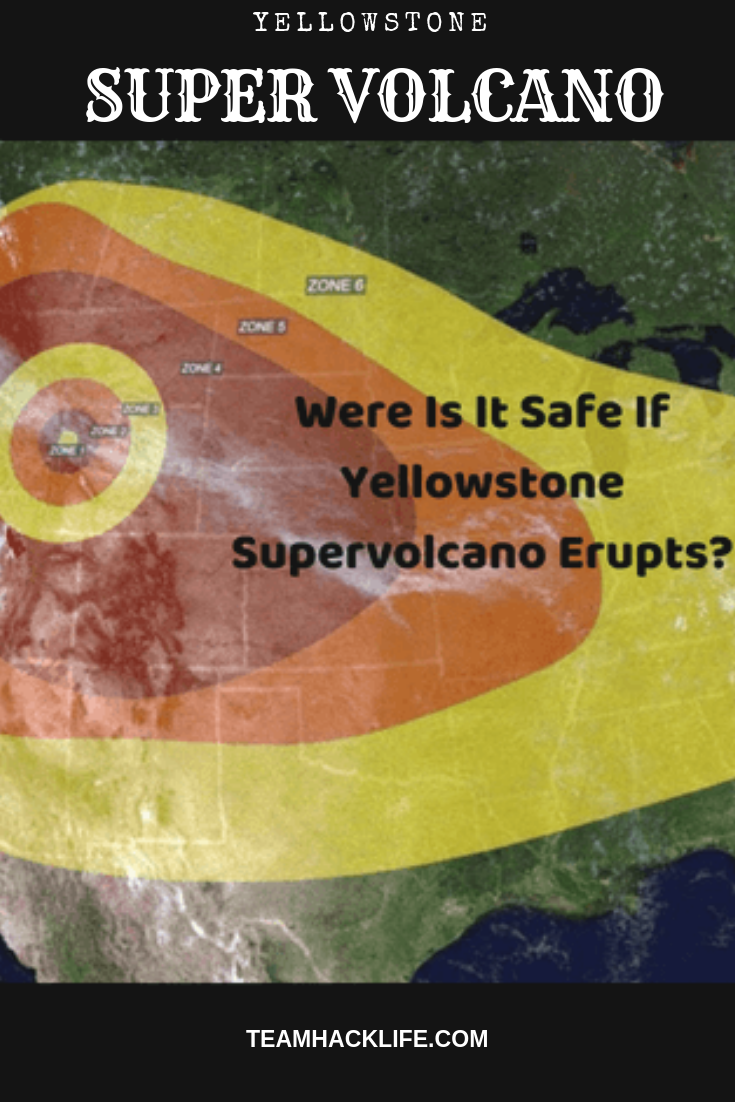 Where Is It Safe If Yellowstone Erupts Yellowstone