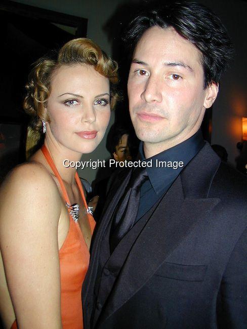 Charlize Theron & Keanu Reeves 2000 Vanity Fair Post Oscar ...