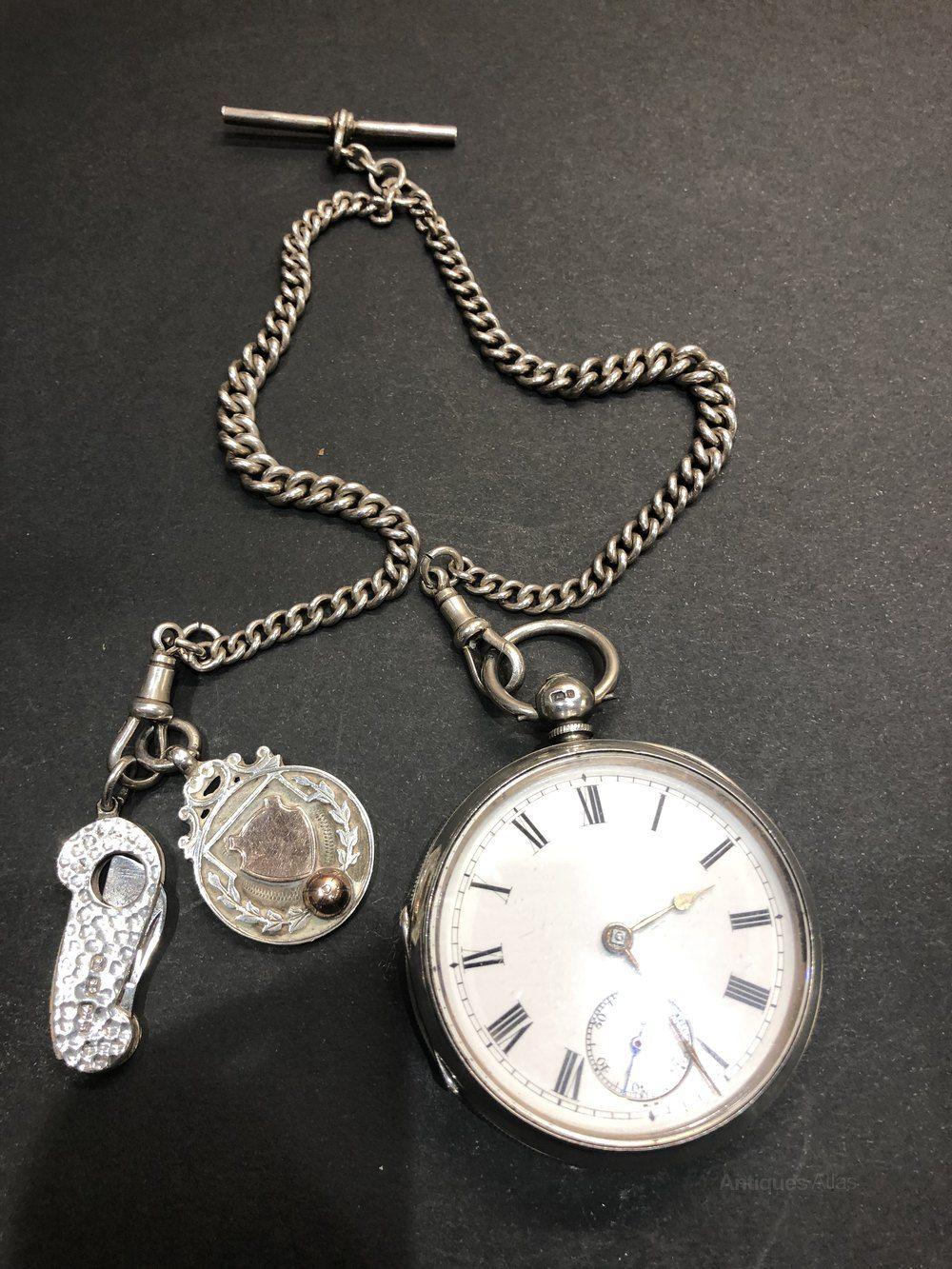 8fd1ca160 Antique silver Waltham Traveler pocket watch   Antique Pocket Watches   Pocket  Watch, Pocket watch antique, Watches
