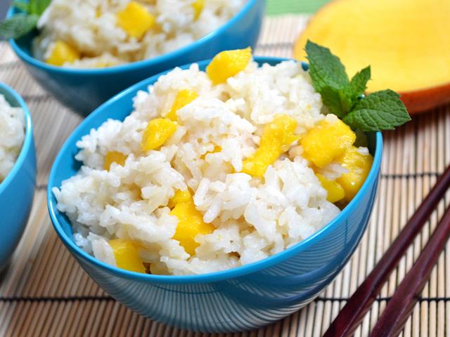 Mango Coconut Jasmine Rice | Recipe | Jasmine rice recipes ...