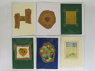 Pack of 6 #handmade #greeting cards all occasions birthday #blank