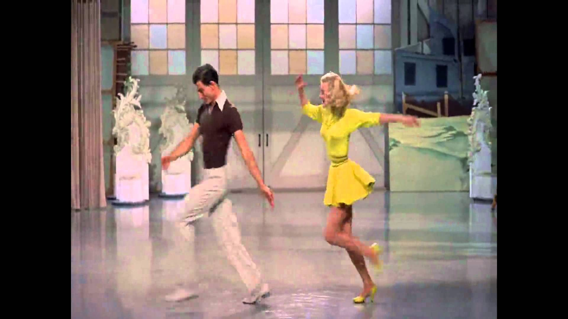 """Abraham"" dance scene with VeraEllen and John Brascia"