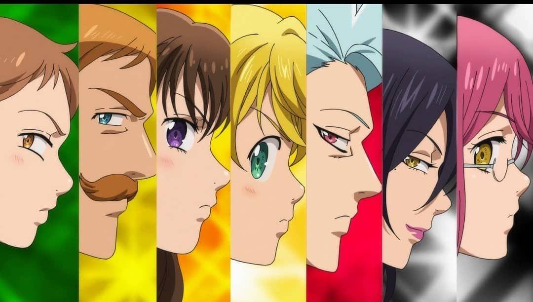 Nanatsu no taizai saison 04 vostf en 2020 anime seven