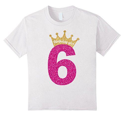 Princess Kids 5th Birthday Children T-Shirt Gift Funny Present T Shirt Girls