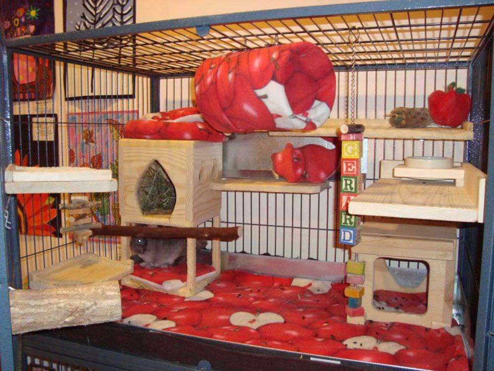Fleece liner sets for cages critter nation cage pocket