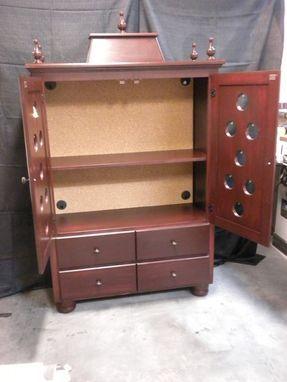 Custom Made Puja (Pooja) Cabinet Armoire