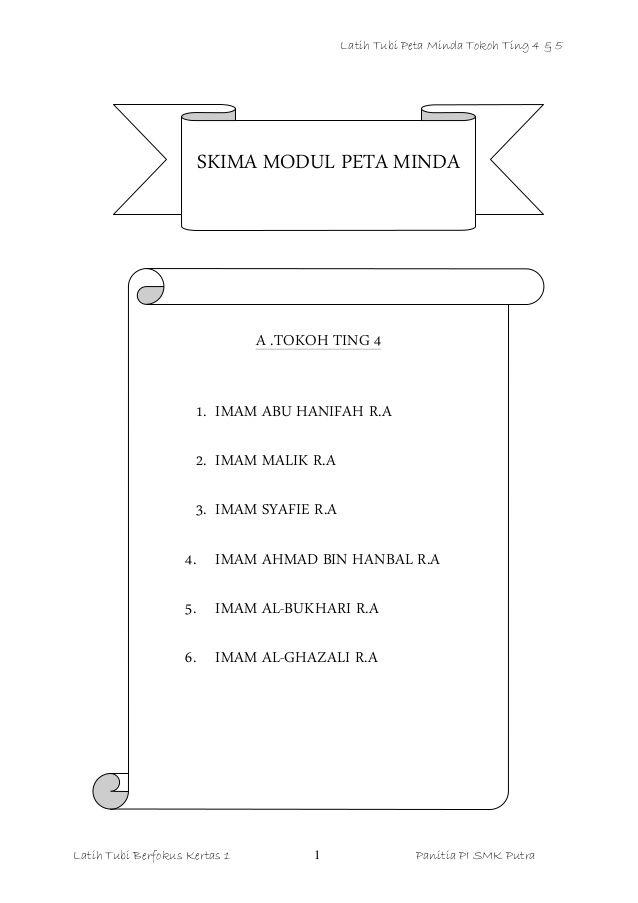 Nota Tokoh Pendidikan Islam Tingkatan 4 Notes Letters Islam