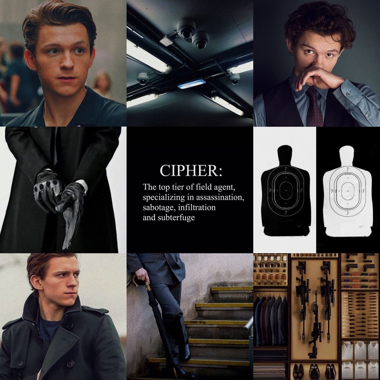 AU: Tom Holland as a Spy requested by anonymous aesthetic 28