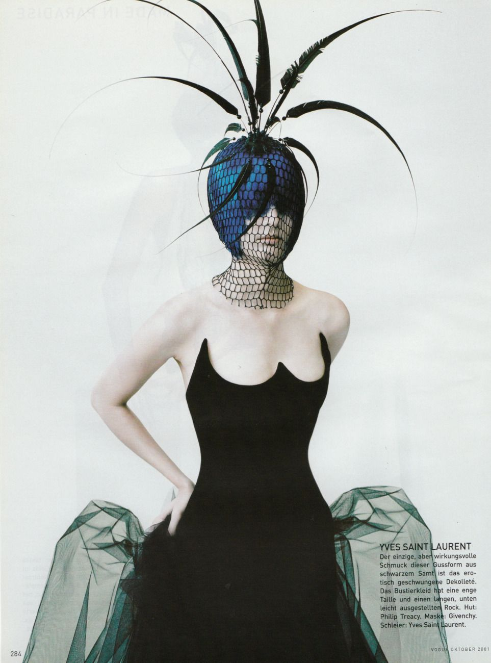 Vogue Germany October 2001