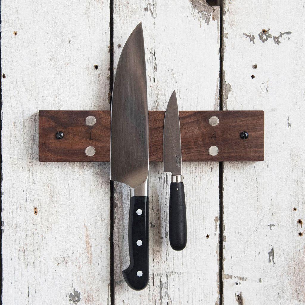 Mess Hall Knife Rack | Knife rack, Magnetic knife rack