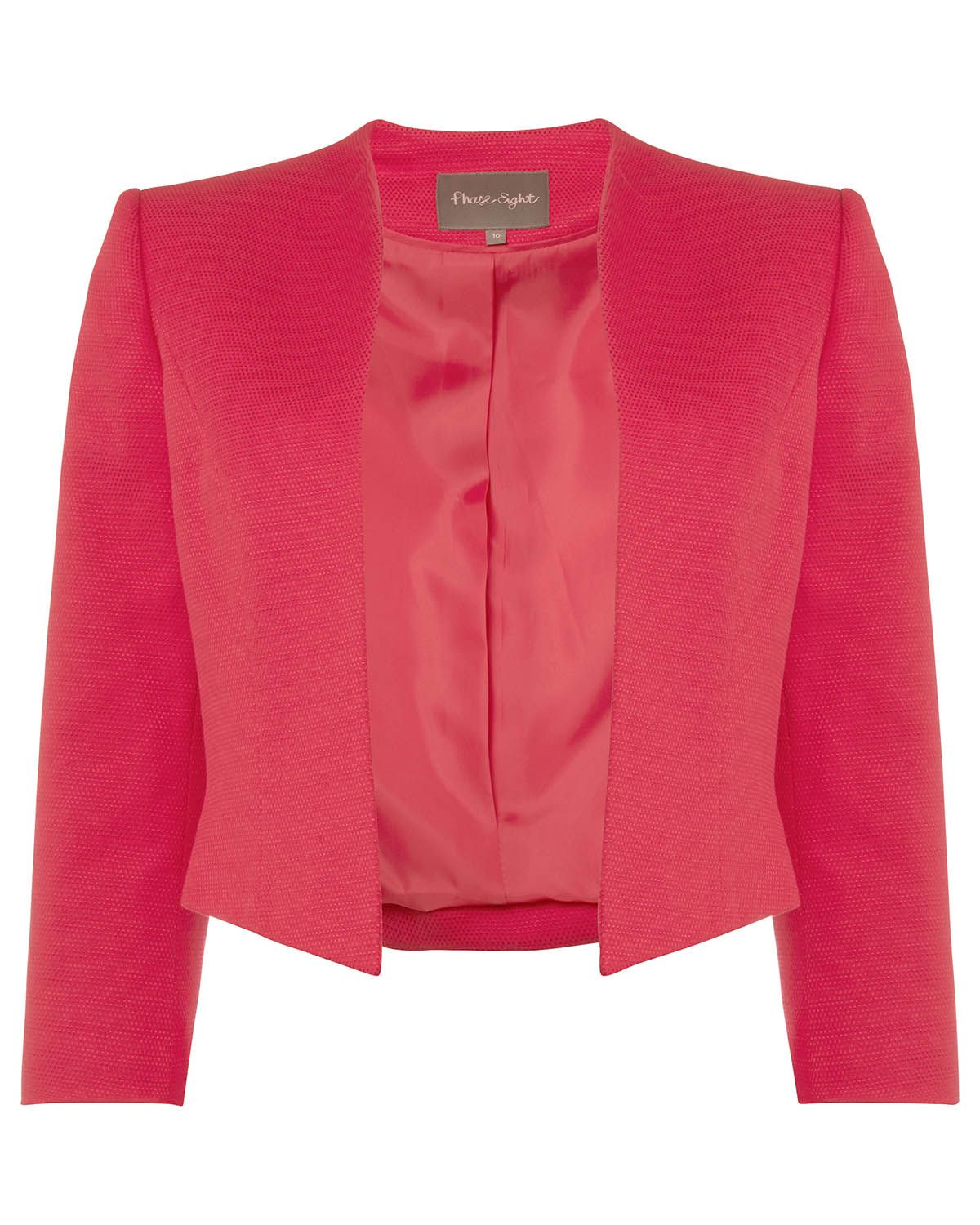 Pink dress and jacket for wedding  Phase Eight Tabitha Jacket Pink  Wedding outfits  Pinterest