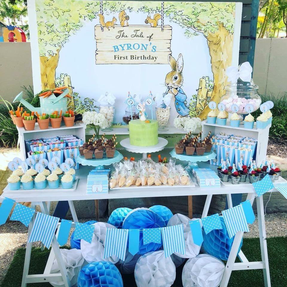 Peter Rabbit Peter Rabbit Birthday Bunny Birthday Party Peter Rabbit Theme Party