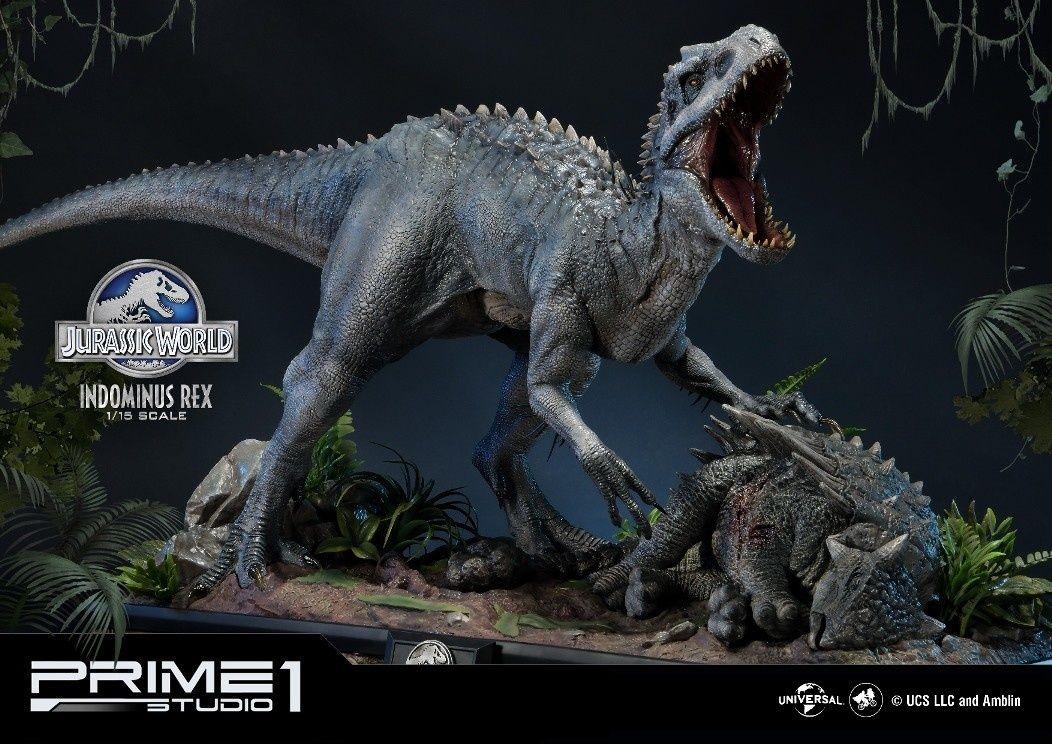 Jurassic World Indominus Rex 1 15 Scale Statue Jurassic World Indominus Rex Jurassic Park World Jurassic World Dinosaurs