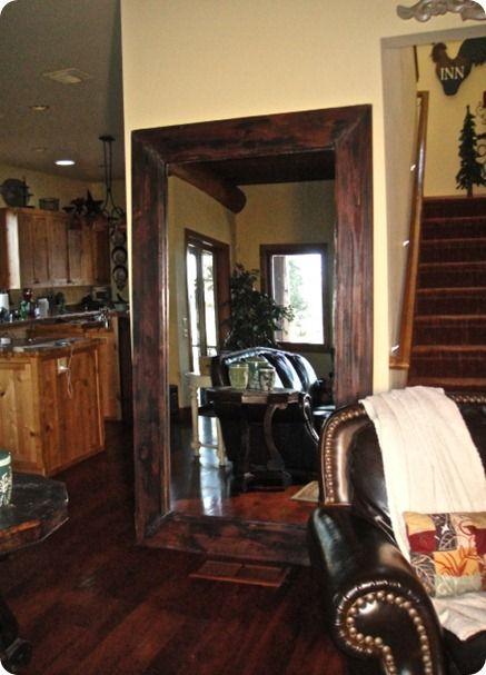 Wooden Floor Mirrors Knock Off Decor Diy Flooring