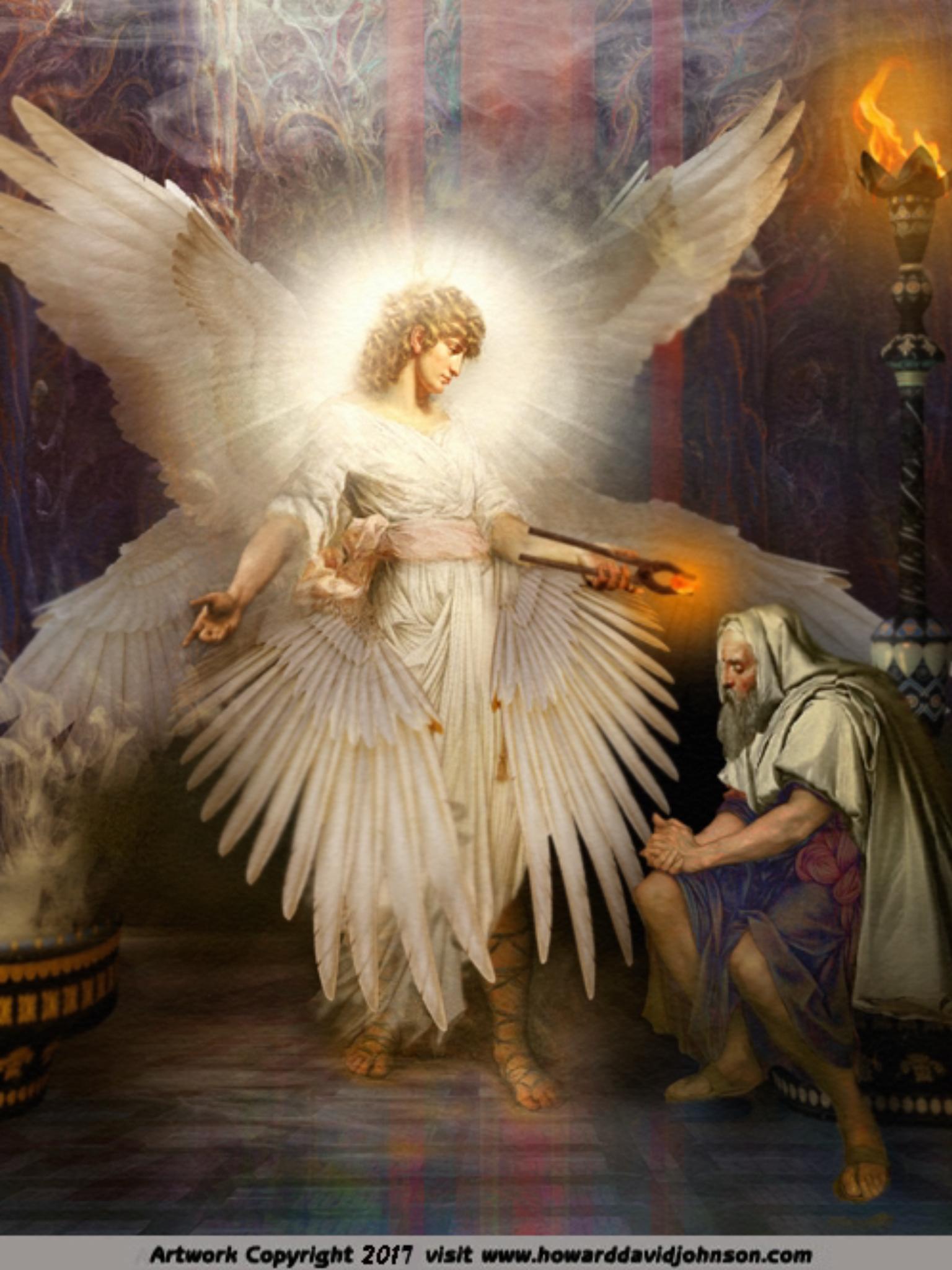 Seraphim Angels Paintings