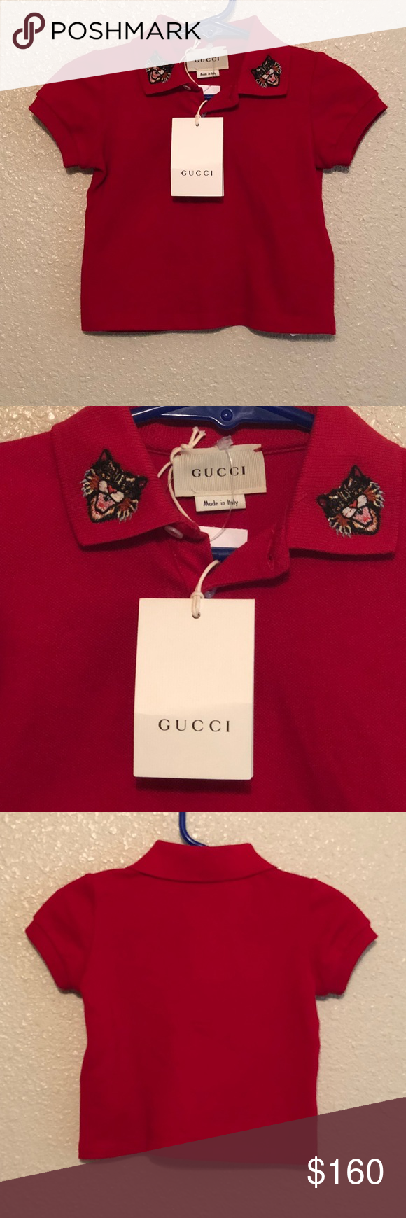 25fb3b1166d Gucci baby polo brand new Purchased from saks this year