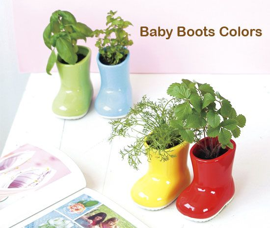 flowerpot rainboots