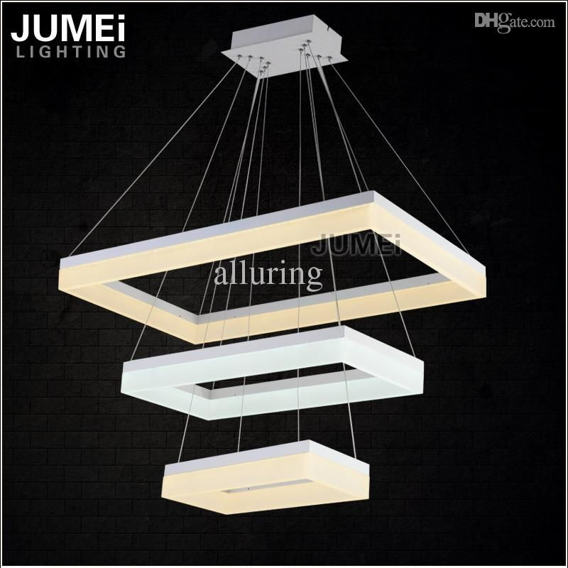 Großhandels Neuester Entwurfs Led Kronleuchter Licht Led Lampe Weiß