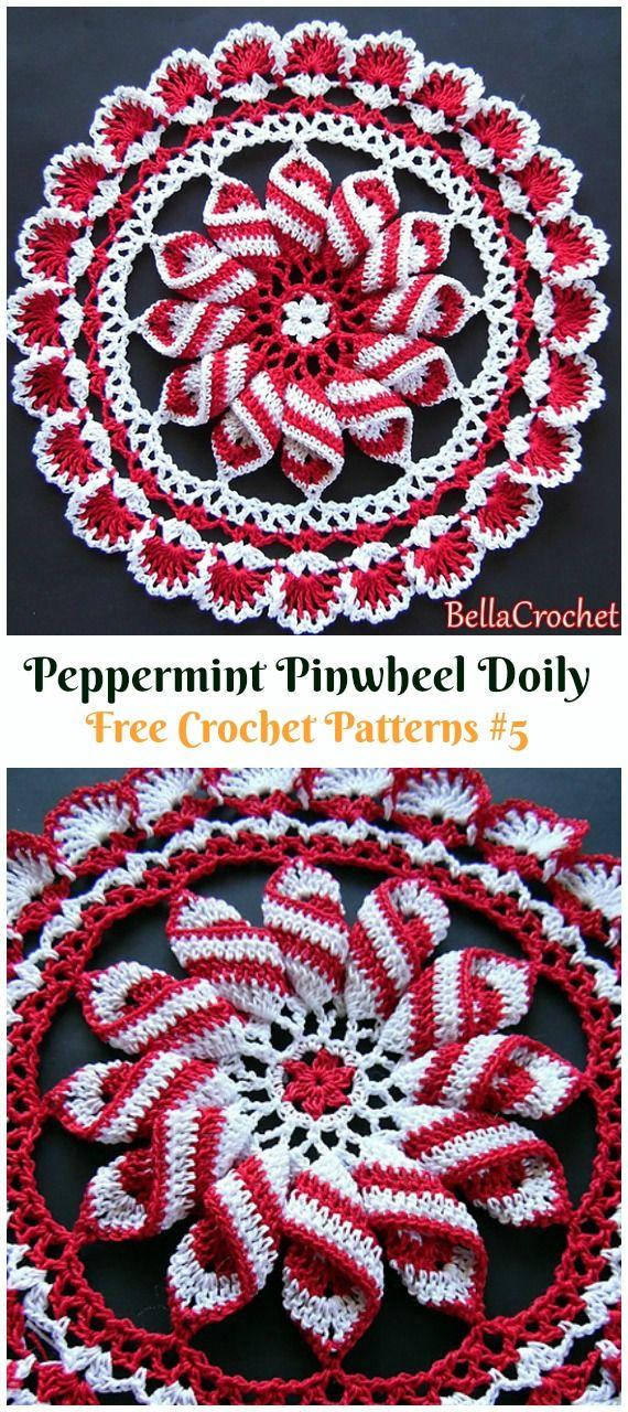 Christmas Doily Crochet Free Patterns Uncinetto Idee Per La Casa