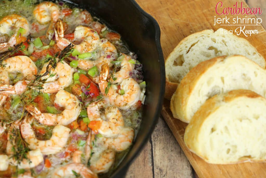 Caribbean Jerk Shrimp - It Is a Keeper #jerkshrimp