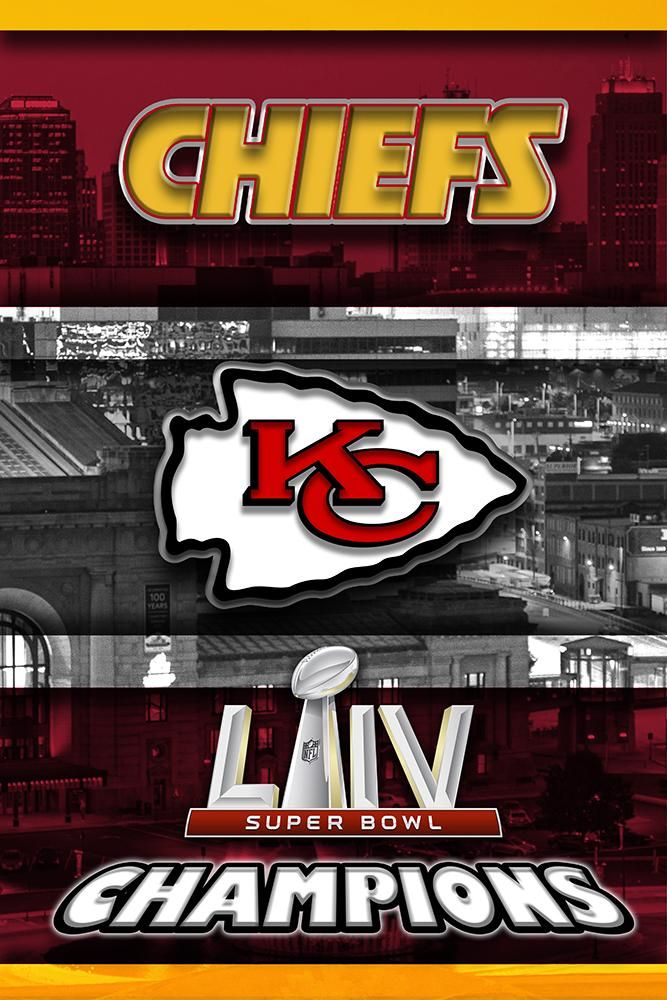 Kansas City Chiefs Super Bowl Championship Poster Kansas City Chiefs Mcqdesign In 2020 Kansas City Kansas City Chiefs Logo Kansas City Chiefs