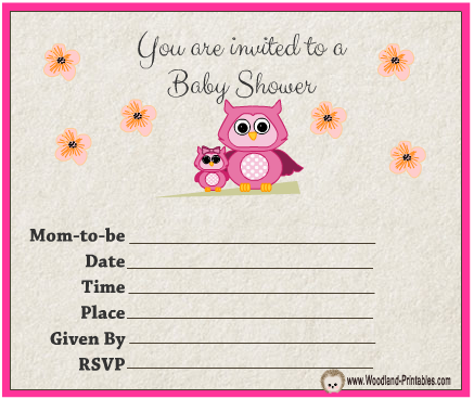 Free printable owl baby shower invitations idealstalist free printable owl baby shower invitations filmwisefo