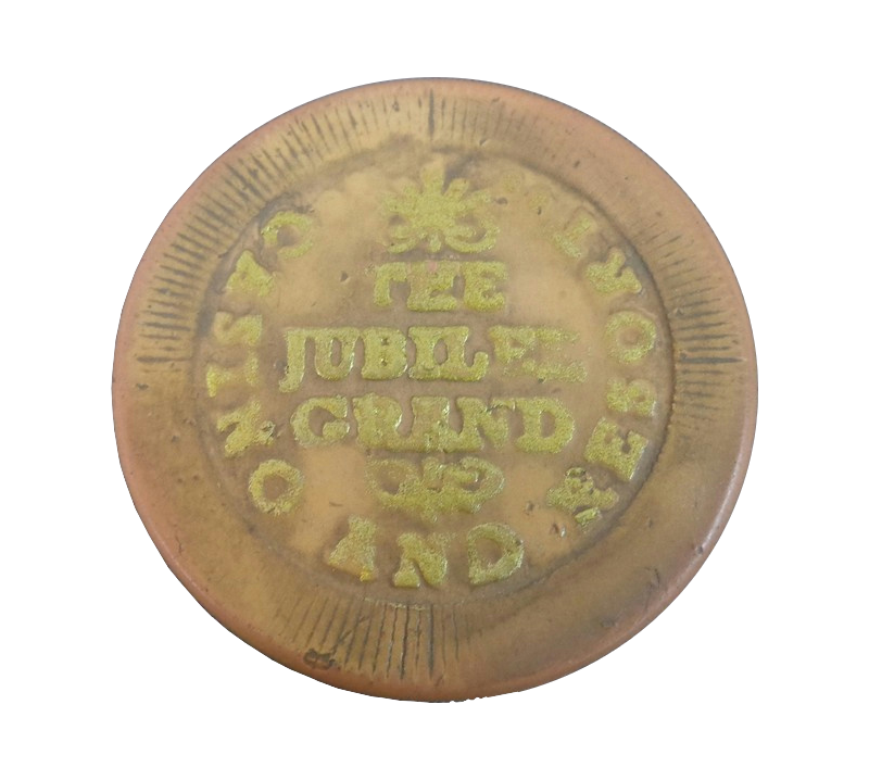 Jubilee Grand Poker Chip: Precognition; Eventual addiction to use Contact burns. Seen in the Warehouse 13 Episode: Duped