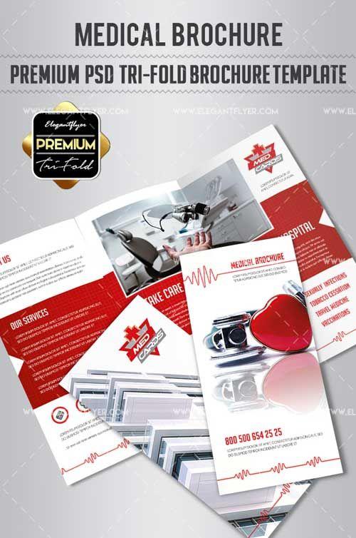Medical V1 2018 Premium Tri Fold Psd Brochure Template Free Download