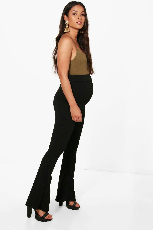 c98aee7e2bdba WORK PANTS Boohoo Maternity, Work Pants, Flare, Pregnancy, Trousers,  Pregnant Clothes