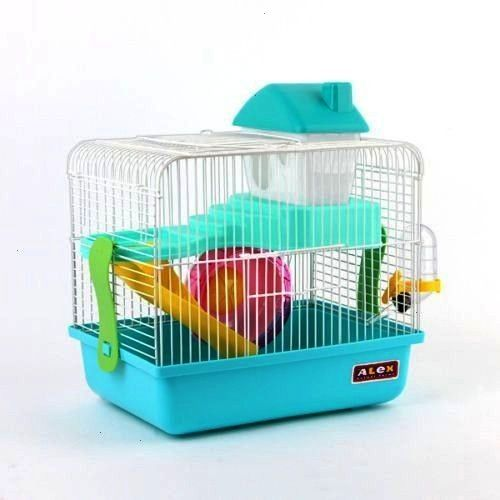 Combo Dwarf Hamster Rodent Cage playhouse Four colors  Gnawing Stone  eBay  Combo Alex Small Dwarf Hamster Rodent Cage Playhouse Four Colors Gnawing Stone  eBay New desig...